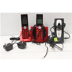 SOCKET MOBILE SCANNER & 2 V-TECH CORDLESS PHONES