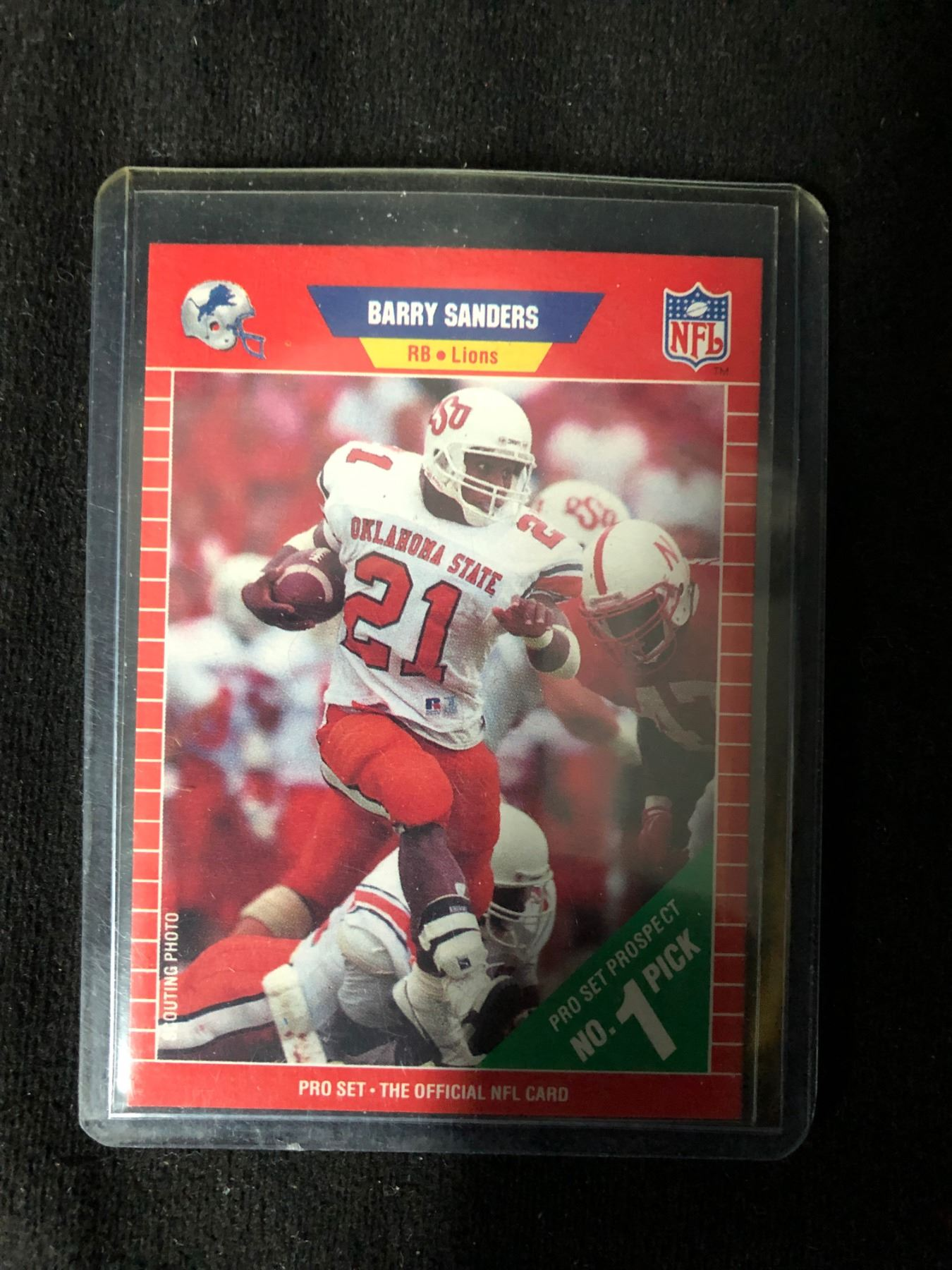 1989 Pro Set Barry Sanders Rookie Card Lot