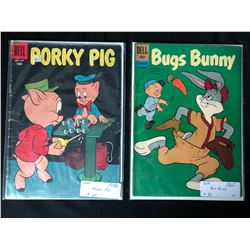1950-60'S DELL COMICS BOOK LOT (PORKY PIG/ BUGS BUNNY)