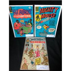 1960-70'S COMIC BOOK LOT (FAT ALBERT/ MIGHTY MOUSE...)