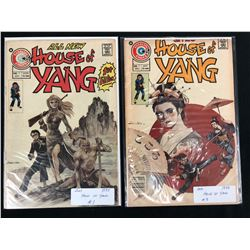 1975 HOUSE OF YANG #1/ #3 (CHARLTON COMICS)