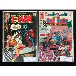 1970'S COMIC BOOK LOT (E-MAN #3/ HOT RODS #114)