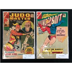 1960'S COMIC BOOK LOT (JUDO MASTER/ THUNDERBOLT)