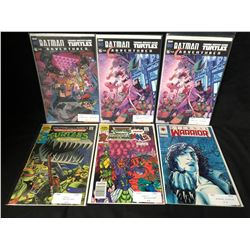 COMIC BOOK LOT (BATMAN-NINJA TURTLES/ EXTERNAL WARRIOR)