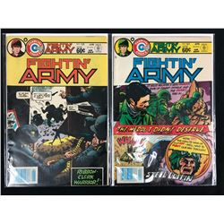 FIGHTIN' ARMY #163/ #158 (CHARLTON COMICS)