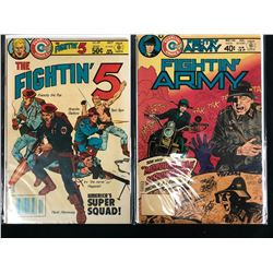 CHARLTON COMICS BOOK LOT (FIGHTIN' 5/ FIGHTIN' ARMY)