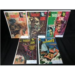 TWILIGHT ZONE COMIC BOOK LOT (GOLD KEY COMICS)