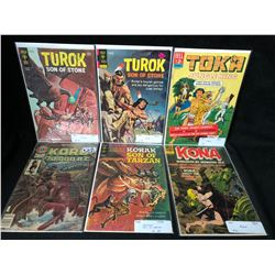 VINTAGE COMIC BOOK LOT (TUROK/ KORAK/ KONA...)