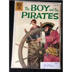 1960 THE BOY AND THE PIRATES #1117 (DELL COMICS)