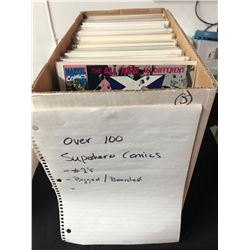 100+ SUPER HERO COMICS (#1's) BAGGED/ BOARDED
