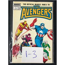 THE AVENGERS #1-3 (MARVEL COMICS)
