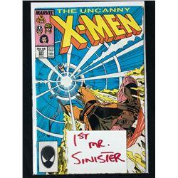 THE UNCANNY X-MEN #221 (MARVEL COMICS) *1ST MR. SINISTER*