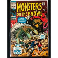 MONSTERS ON THE PROWL #10 (MARVEL COMICS)