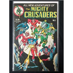 THE MIGHTY CRUSADERS #1 (RED CIRCLE COMICS)