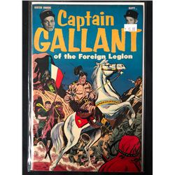 Captain Gallant of the Foreign Legion Comic #1 Golden Age 1955 (Buster Crabbe Photo Inside)
