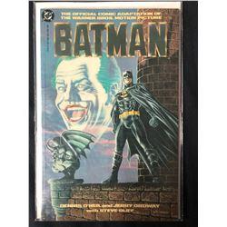 Batman : The Official Comic Adaptation Paperback – 1989