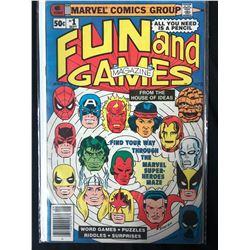 FUN AND GAMES #1 (MARVEL COMICS)