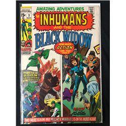 THE INHUMANS & THE BLACK WIDOW #3 (MARVEL COMICS)