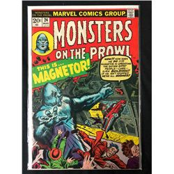 MONSTERS ON THE PROWL #24 (MARVEL COMICS)
