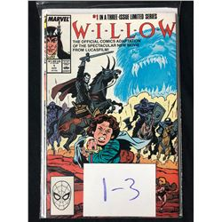 WILLOW #1-3 (MARVEL COMICS)