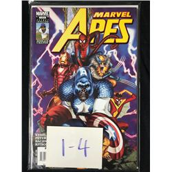 MARVEL APES #1-4 (MARVEL COMICS)
