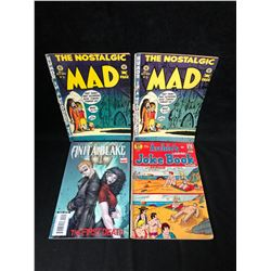 COMIC BOOK LOT (MAD/ ANITA BLAKE/ ARCHIE)