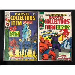 MARVEL COLLECTORS' ITEMS CLASSICS #21/ #22 (MARVEL COMICS)