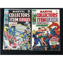 MARVEL COLLECTORS' ITEMS CLASSICS #20/ #19 (MARVEL COMICS)