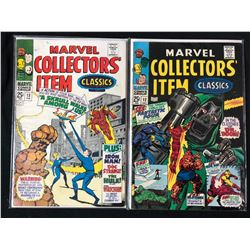 MARVEL COLLECTORS' ITEMS CLASSICS #13/ #12 (MARVEL COMICS)