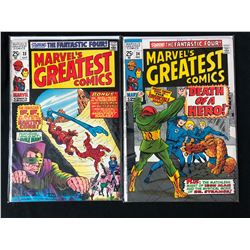 MARVEL'S GREATEST COMICS BOOK LOT #23/ #24 (MARVEL)