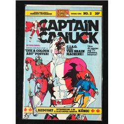 CAPTAIN CANUCK #2 (COMELY COMIX)