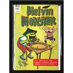 1965 MELVIN MONSTER #1 9DELL COMICS **RARE**