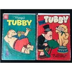 TUBBY COMIC BOOK LOT (DELL COMICS)