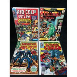 COMIC BOOK LOT (KID COLT OUTLAW/ KING CONAN...)