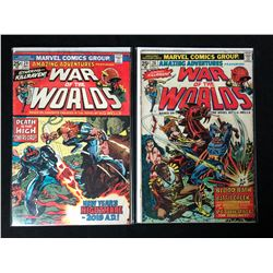 WAR OF THE WORLDS COMIC BOOK LOT #24/ #26 (MARVEL COMICS)