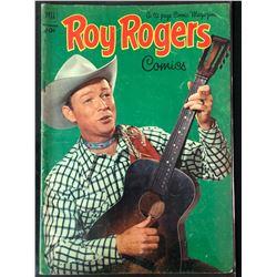VINTAGE ROY ROGERS COMIC BOOK (DELL COMICS)