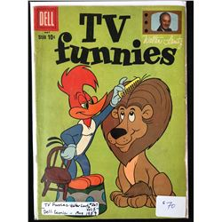 1959 TV FUNNIES #267 (DELL COMICS)