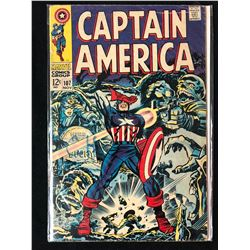CAPTAIN AMERICA #107 (MARVEL COMICS)