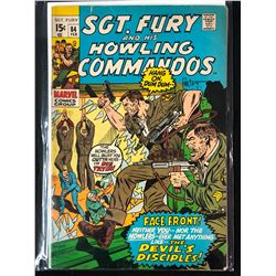 SGT. FURY AND HIS HOWLING COMMANDOS #84 (MARVEL COMICS)