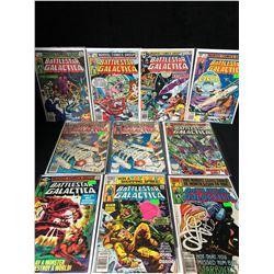 BATTLESTAR GALACTICA COMIC BOOK LOT (MARVEL COMICS)
