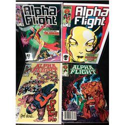 ALPHA FIGHT COMIC BOOK LOT (MARVEL COMICS)