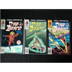 STAR BRAND COMIC BOOK LOT (MARVEL COMICS)