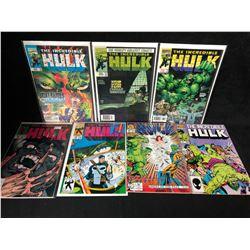THE INCREDIBLE HULK COMIC BOOK LOT (MARVEL COMICS)