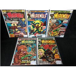 WEREWOLF COMIC BOOK LOT (MARVEL COMICS)