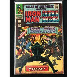 TALES OF SUSPENSE FEATURING IRON MAN & CAPTAIN AMERICA #78 (MARVEL COMICS)