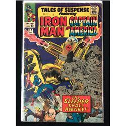 TALES OF SUSPENSE FEATURING IRON MAN & CAPTAIN AMERICA #72 (MARVEL COMICS)