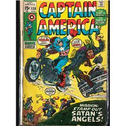 CAPTAIN AMERICA #128 (MARVEL COMICS)