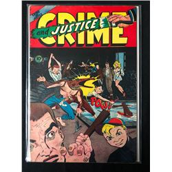 CRIME AND JUSTICE #11 COMIC BOOK