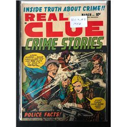 1952 REAL CLUE CRINE STORIES (VOLUME 7 #1)