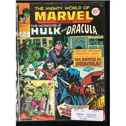 1977 MARVEL FEATURING HULK & DRACULA #256 (MARVEL COMICS)